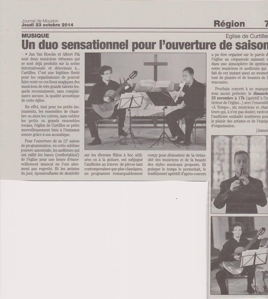 Article de Moudon